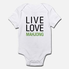 Live Love Mahjong Infant Bodysuit