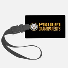 U.S. Navy: Proud Grandparents (B Luggage Tag