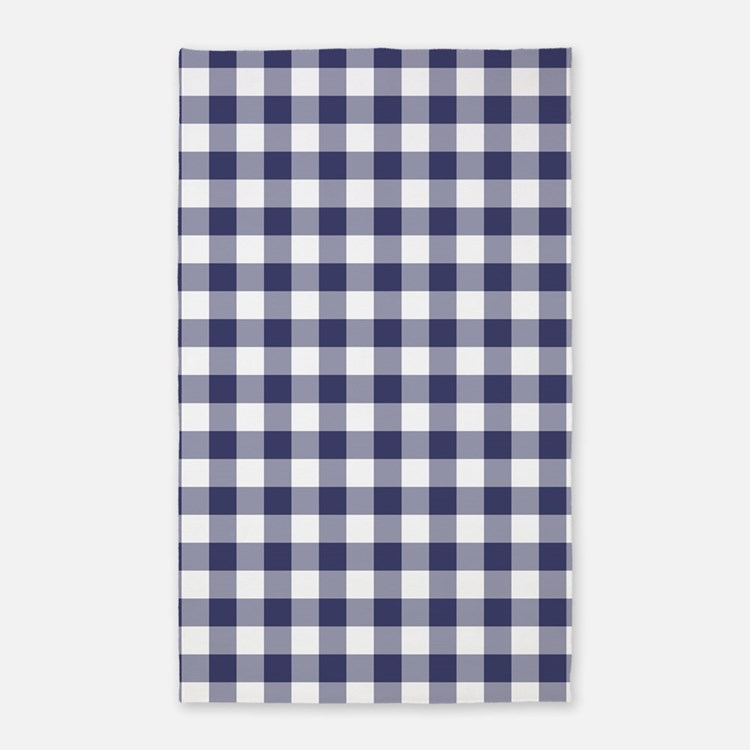 Yellow Checkered Rug: Blue Gingham Rugs, Blue Gingham Area Rugs