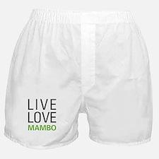 Live Love Mambo Boxer Shorts
