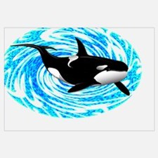 Unique Killer whale Wall Art