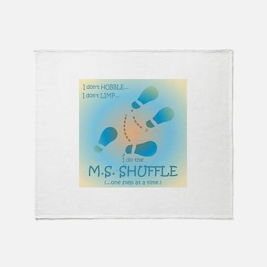 MS Shuffle Throw Blanket