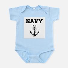 Navy Body Suit