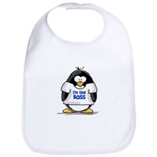 I'm the Boss Penguin Bib