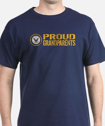 U.S. Navy: Proud Grandparents T-Shirt