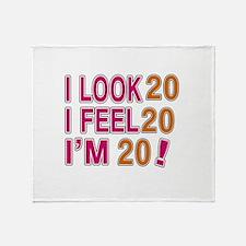 I Look 20 Throw Blanket