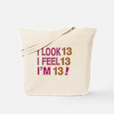 I Look 13 Tote Bag