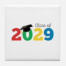 Class of 2029 Tile Coaster