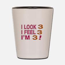 I Look 03 Shot Glass