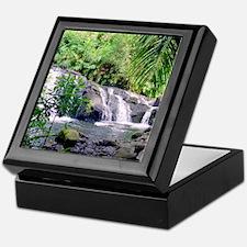 Hahalawe Falls Maui Keepsake Box