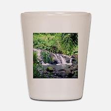Hahalawe Falls Maui Shot Glass