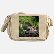 Hahalawe Falls Maui Messenger Bag