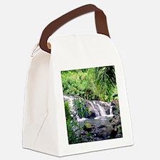 Hahalawe Falls Maui Canvas Lunch Bag