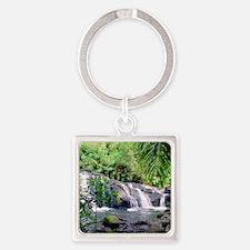 Hahalawe Falls Maui Keychains