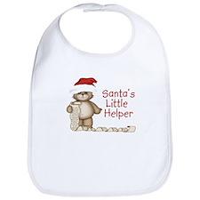 Santa's Little Helper Bib