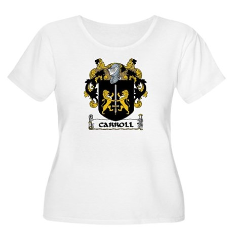 Carroll Coat of Arms Women's Plus Size Scoop Neck