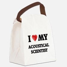 I love my Acoustical Scientist Canvas Lunch Bag