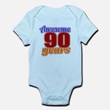 Awesome 90 Years Birthday Infant Bodysuit