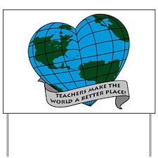 Presents for Teachers Yard Sign
