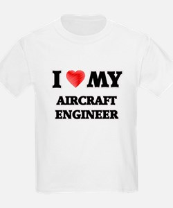 I love my Aircraft Engineer T-Shirt