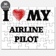 I love my Airline Pilot Puzzle