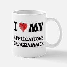I love my Applications Programmer Mugs