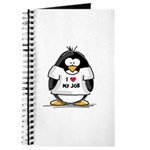 I Love My Job Penguin Journal