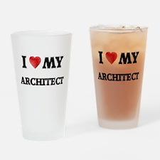 I love my Architect Drinking Glass