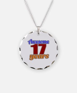 Awesome 17 Years Birthday Necklace