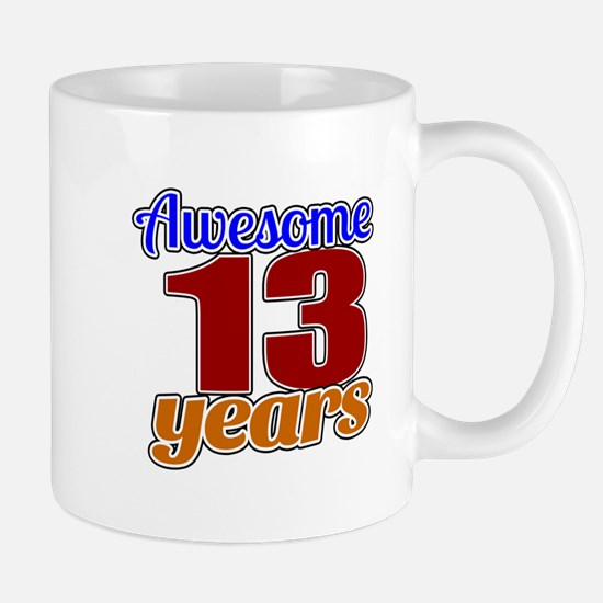 Awesome 13 Years Birthday Mug