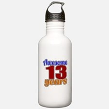 Awesome 13 Years Birth Water Bottle