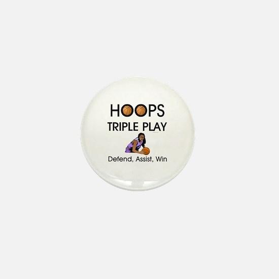 TOP Hoops Slogan Mini Button