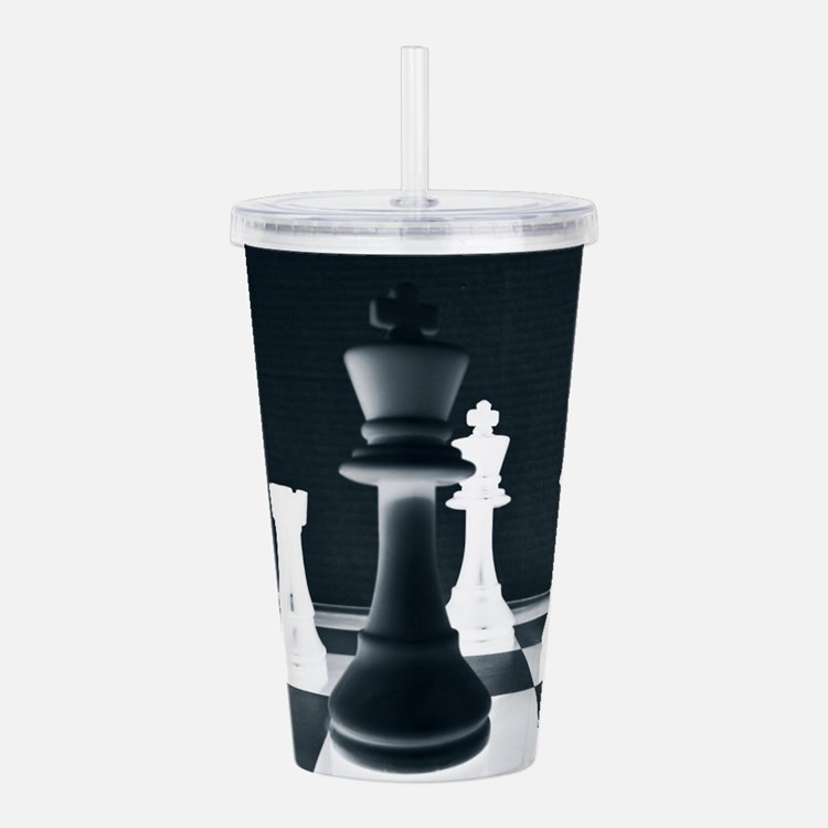 Master Chess Piece Acrylic Double-wall Tumbler