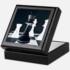 Master Chess Piece Keepsake Box