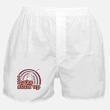 I make stuff up unicorn Boxer Shorts
