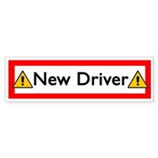 New Driver Bumper Bumper Sticker