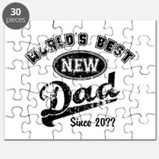 Custom New Dad Puzzle