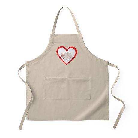 Sheep Heart BBQ Apron