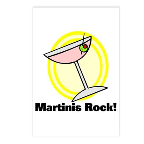 Martinis Rock! Postcards (Package of 8)