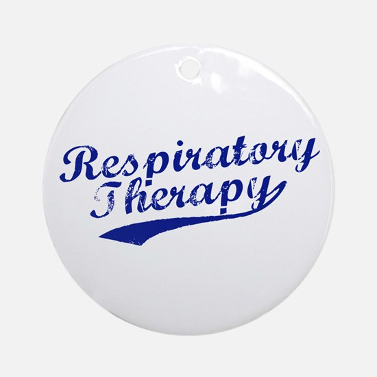 Respiratory Therapy Ornament (Round)