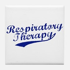 Respiratory Therapy Tile Coaster