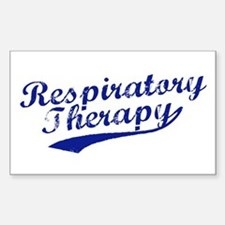 Respiratory Therapy Rectangle Decal