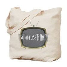 I sit too close Tote Bag