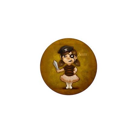 Pirate Munchkin Mini Button