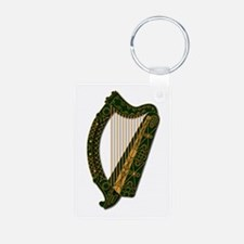 Harp-Ireland Coat Of Arms2 Keychains