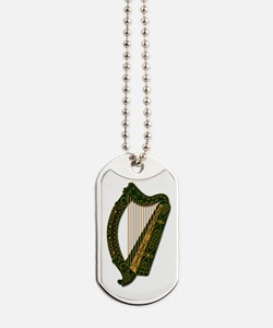 Harp - Ireland Coat Of Arms - 2 - Dog Tags