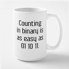 Counting In Binary Large Mug