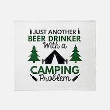 Beer Drinker Camping Stadium Blanket