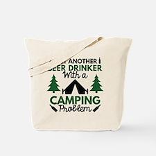 Beer Drinker Camping Tote Bag