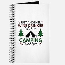 Wine Drinker Camping Journal